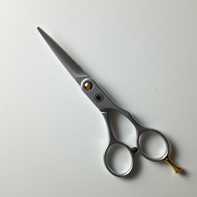 Beardbrand Scissors: photo by Cliff Hutson
