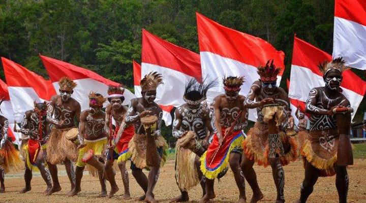 sejahtera bersama indonesia, damailah papua