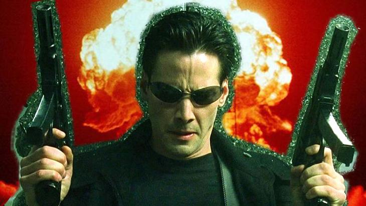 Photo du tournage de Matrix 4