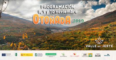 Este finde en el Valle del Jerte (8, 9 y 10 de noviembre 2019)