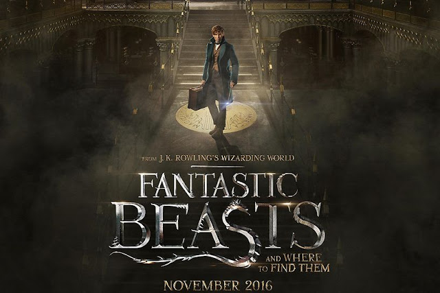 CINE ΣΕΡΡΕΣ, David Yates, Eddie Redmayne, Katherine Waterston, Alison Sudol, Fantastic Beasts and Where to Find Them (2016),