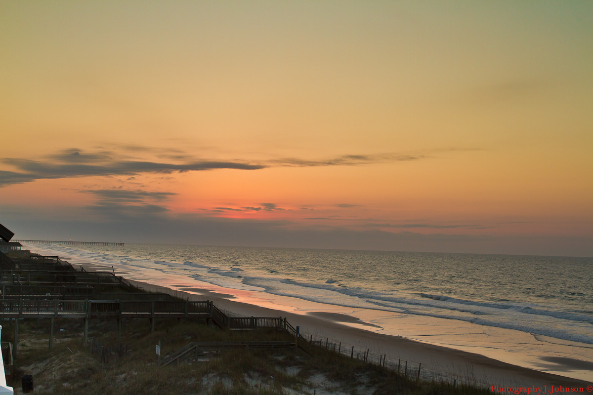 Lincoln's Domain: Last Morning At Topsail Island