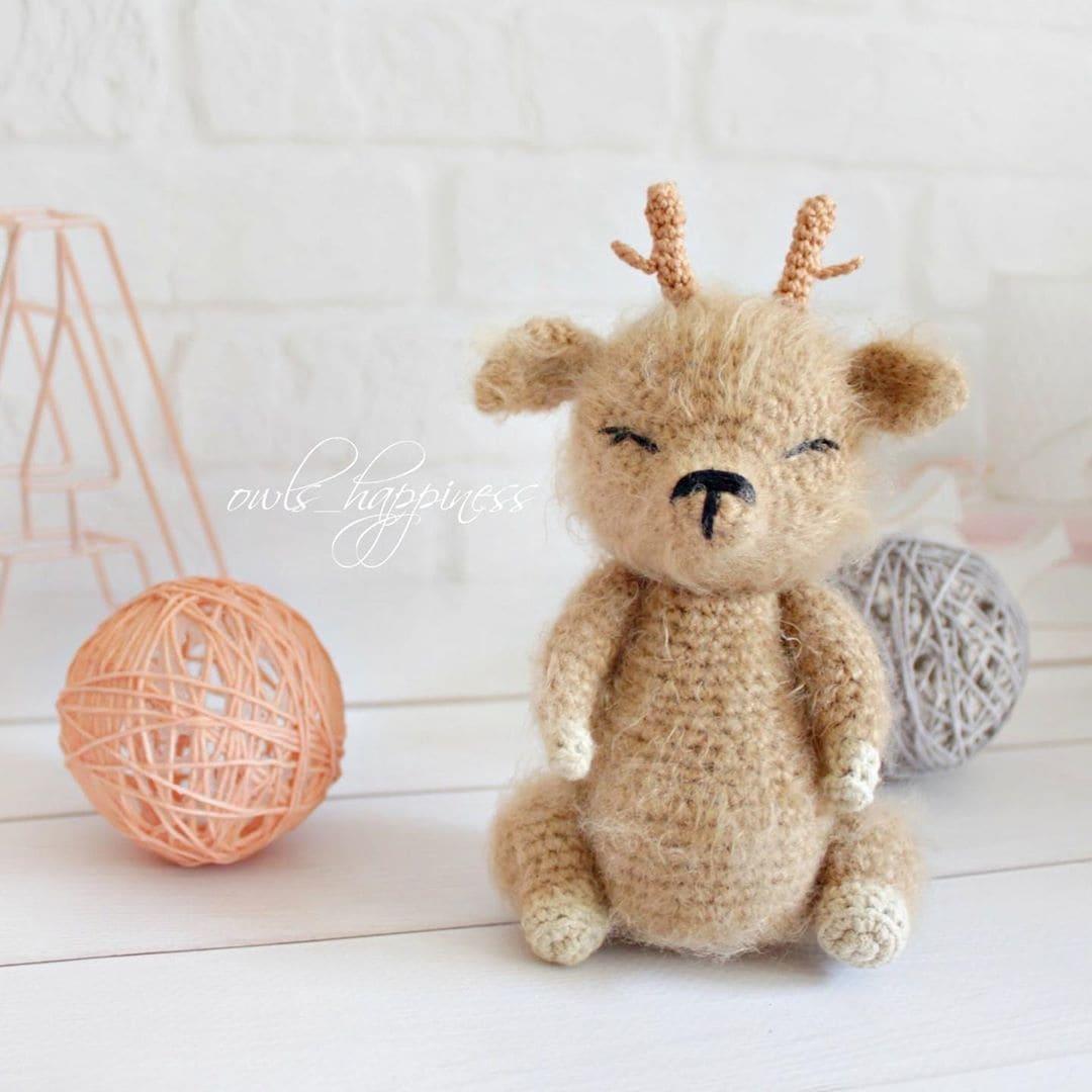 Amigurumi Deer (Free Amigurumi Patterns)   Christmas crochet ...   1080x1080