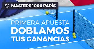 Paston Doblamos tus ganancias Masters 1000 de París hasta 4 noviembre