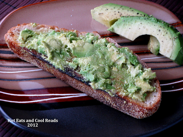 This toast is a hearty, easy and delicious breakfast or snack idea! Try sourdough bread! Buttered Avocado Toast Recipe from Hot Eats and Cool Reads