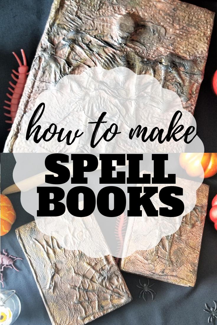 DIY Spell Books for Halloween