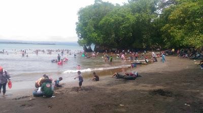 Manjakan Wisatawan, Pantai Batu Karas Pangandaran Terus Berbenah