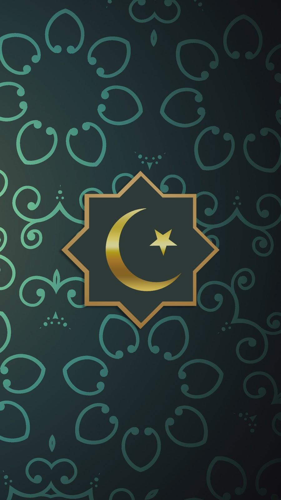 Background Ramadhan Wallpaper HD Android Bulan Sabit keren