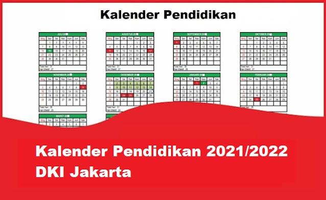 kalender pendidikan jakarta 2022