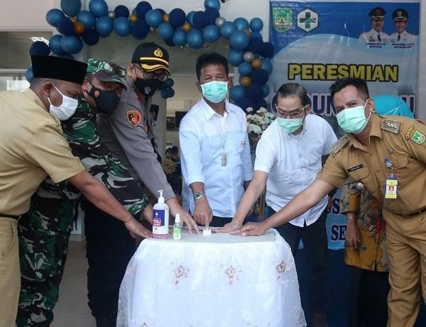 Wako Batam Resmikan Gedung Puskesmas Baru di Tanjung Sengkuang