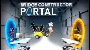 Download Bridge Constructor Portal MOD APK + DATA for Android Versi 1.0 Game Terbaru 2018