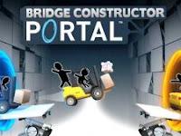 Download Bridge Constructor Portal MOD APK + DATA for Android Versi 1.0 Game Terbaru 2018