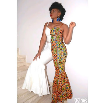 Kente styles for ladies