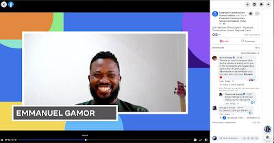Facebook Community Summit - Sub-Saharan Africa, Emmanuel Agbeko Gamor