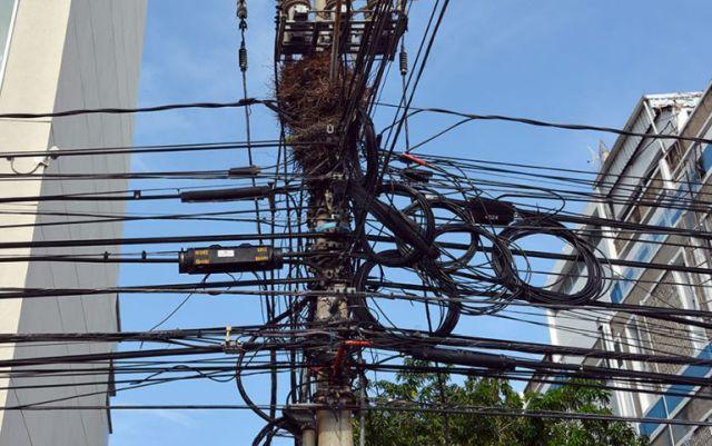 Cables en desuso