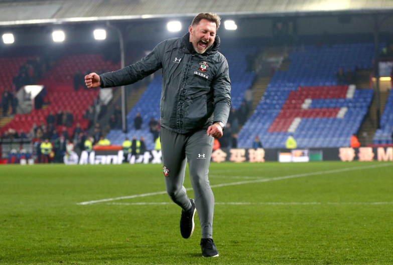 Hasenhuttl celebrates big win against Crystal Palace at Selhurst Park