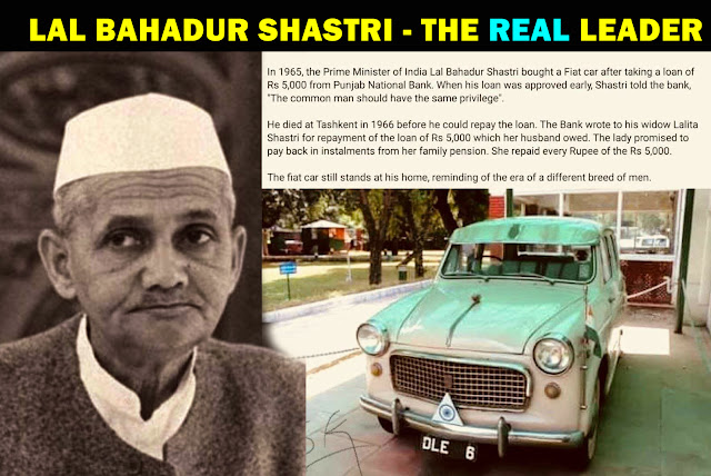 Unknown Facts About Lal Bahadur Shashtri Which You Have To Know Today