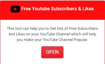 MyToolsTown Youtube Channel membantu Anda untuk Mendapatkan banyak Pelanggan dan Suka Gratis di Saluran YouTube Anda yang akan membantu Anda menjadikan Saluran YouTube Anda Populer.
