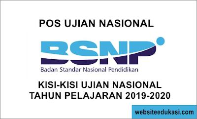 Download POS dan Kisi-Kisi UN Tahun 2020