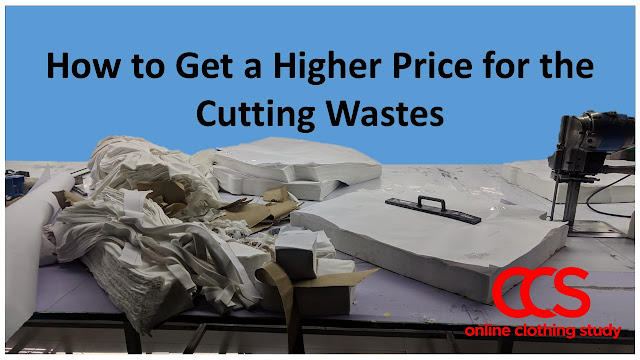 Cutting waste in a garment factory and its price