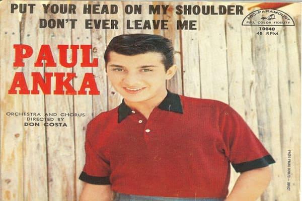 Lirik Lagu Paul Anka Put Your Head On My Shoulder dan Terjemahan