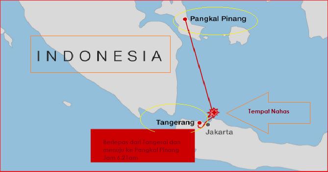 lion air terhempas, pulau bangka, tangerang, pesawat nahas indonesia