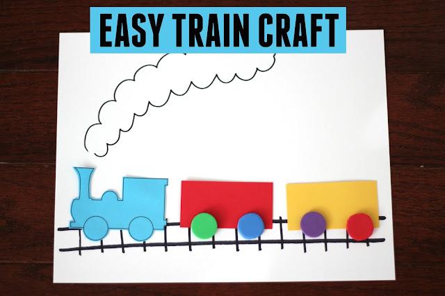 Preschool Train Crafts Free
