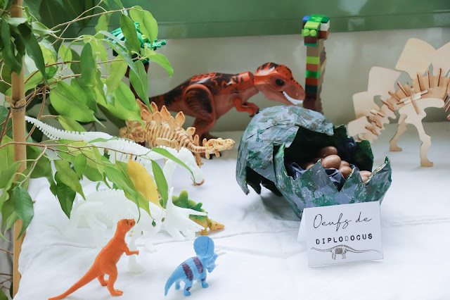 8 ans theme dinosaure