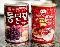 Contoh Pasta kacang merah untuk isian kue Bungeoppang 붕어빵