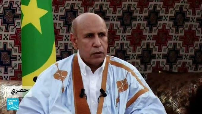 """رئيس موريتانيا يدافع عن موقف """"الحياد الإيجابي"""" لبلاده من نزاع الصحراء الغربية للمرة الثانية خلال 24 ساعة."""