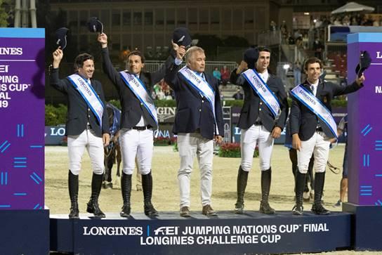 De izquierda a derecha; Alberto Márquez Galobardes, Sergio Álvarez Moya, Marco Fusté, Santiago Núñez Riva y Eduardo Álvarez Aznar.