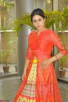 Simrat in Orange Anarkali Dress 23.JPG