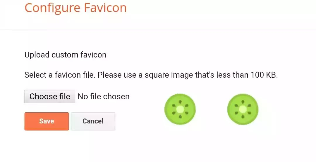 add favicon to your website
