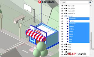 Outliner SketchUp Pro 2020