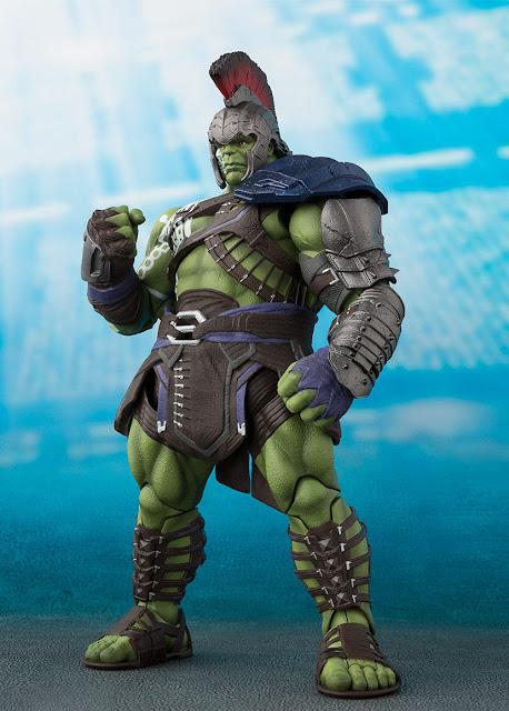 osw.zone Bandai S.H. Figuarts Thor: Ragnarok 8.3 inches (21 cm) gladiator Hulk action figure