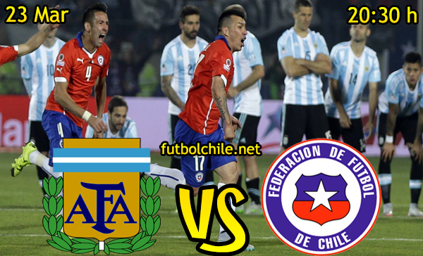 Ver stream hd youtube facebook movil android ios iphone table ipad windows mac linux resultado en vivo, online: Argentina vs Chile