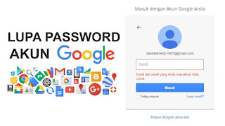 lupa password gmail android