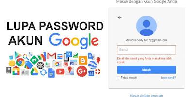 Lupa Password Gmail? Begini Cara Mengembalikannya!