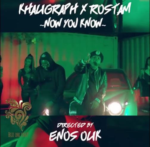 Khaligraph Jones Ft. ROSTAM (Roma & Stamina) - Now You Know Video