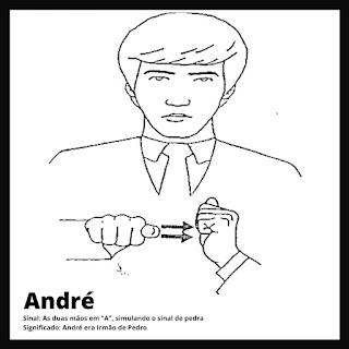 André em Libras