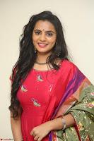 Manasa in Pink Salwar At Fashion Designer Son of Ladies Tailor Press Meet Pics ~  Exclusive 64.JPG