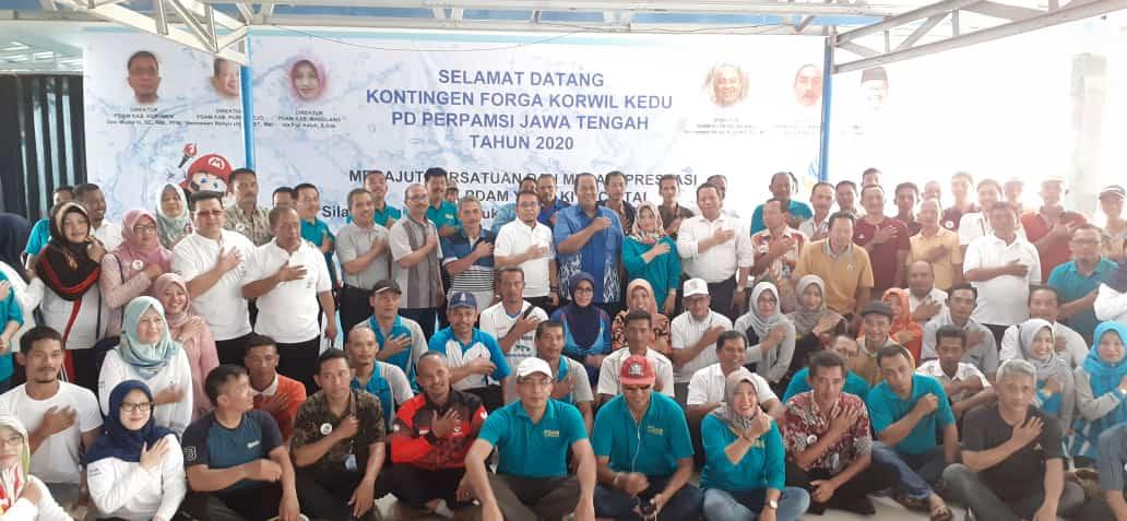 Persiapan Forga Jateng, 131 Tukang Ledheng Enam Kabupaten Gelar Latber di Kebumen