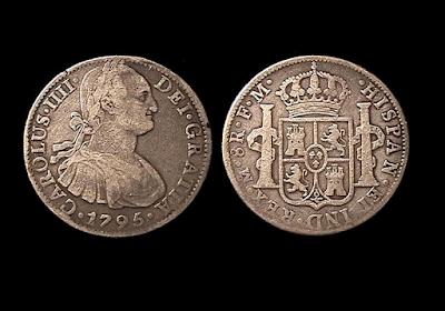 Moneda de 8 reales mexicanos