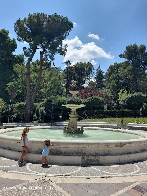 Fontana villa comunale Chieti