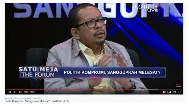 Soal Kabinet Indonesia Maju, M Qadari Bandingkan Orde Baru dan Jokowi: Pak Harto Pilih Orang Hebat