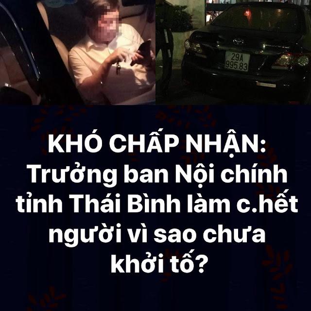 Khó chấp nhận ông Nguyễn Văn Điều gây TNGT khiến 1 người chết, 2 người bị thương vẫn chưa khởi tố?