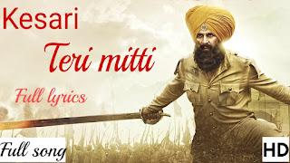 Teri Mitti Lyrics