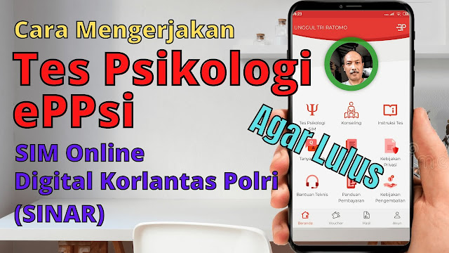 aplikasi tes psikologi sim online
