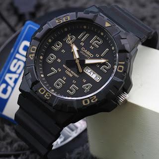 Jam Tangan Casio Original warna hitam