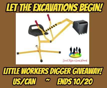Little Workers Digger Giveaway